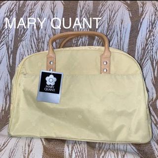 マリークワント(MARY QUANT)の【新品未使用】MARY QUANT  デイジーボストンバッグ イエロー(ボストンバッグ)