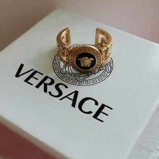 ヴェルサーチ(VERSACE)のお勧めちVersace ヴェルサーチ 指輪 リング メンズ ファション(リング(指輪))