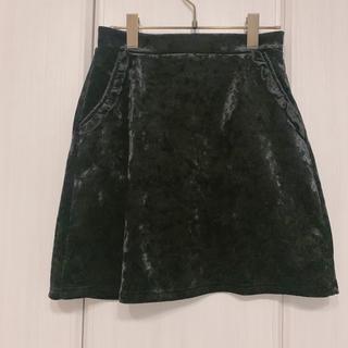 メリージェニー(merry jenny)のmerry jenny skirt(ひざ丈スカート)