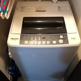 Hisense(ハイセンス) 洗濯機HW-T55A(洗濯機)