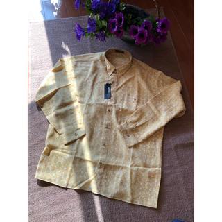 🍀MENS襟付きシャツ・タグ付き未使用品❣️❣️(シャツ)