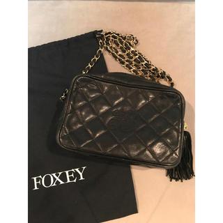フォクシー(FOXEY)のFOXY フォクシー/ショルダーバッグ チェーンショルダーバッグ(ショルダーバッグ)