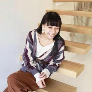 トゥデイフル(TODAYFUL)の新品 TODAYFUL【未使用品】Vintage Stripe Cardigan(カーディガン)