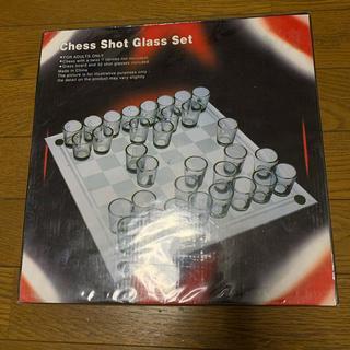 チェス ショットグラスセット(オセロ/チェス)