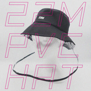 22market 22M PVC HAT   ブラック(キャスケット)