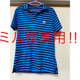 モンクレール(MONCLER)の美品 men'sモンクレール ポロシャツ(ポロシャツ)