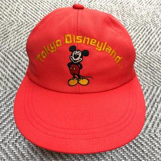 ディズニー(Disney)の80's disny ディズニー ミッキー キャップ オールド ヴィンテージ(キャップ)