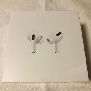 アップル(Apple)のAir Pods pro MWP22J/A 新品未開封(ヘッドフォン/イヤフォン)