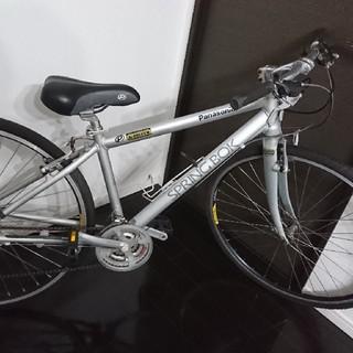 パナソニック(Panasonic)のクロスバイクPanasonic SPRINGBOK アルミフレーム (自転車本体)