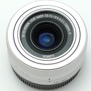 パナソニック(Panasonic)のパナソニック12-32シルバー(レンズ(ズーム))