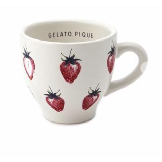 ジェラートピケ(gelato pique)のジェラートピケ   ストロベリー マグカップ(グラス/カップ)