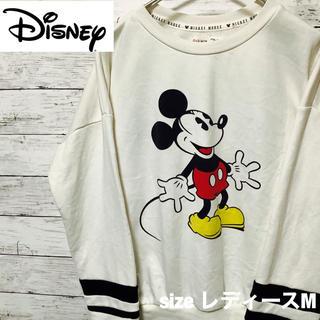 ディズニー(Disney)の[一点物][Disney]薄手ミッキーマウススエットシャツ(トレーナー/スウェット)