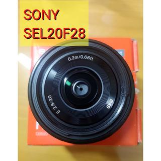 ソニー(SONY)の【SONY】単焦点レンズSEL20F28(レンズ(単焦点))