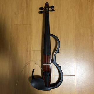 ヤマハ(ヤマハ)の【うえーき様専用】YSV-104 BR+弓(ヴァイオリン)