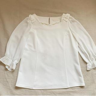 ロディスポット(LODISPOTTO)の白 ブラウス(シャツ/ブラウス(長袖/七分))