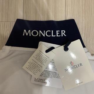 モンクレール(MONCLER)の[新品同様]モンクレール ポロシャツ ホワイト M(ポロシャツ)