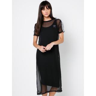 アディダス(adidas)のadidas Originals 3 Stripes Layer Dress (ロングワンピース/マキシワンピース)