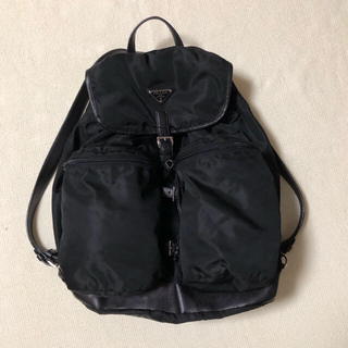 プラダ(PRADA)の専用 プラダ 黒ナイロンリュック大きめサイズ(バッグパック/リュック)
