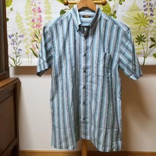 アラミス(Aramis)の✨ARAMIS アラミス 縦縞模様の日本製の半袖シャツLサイズ(シャツ)