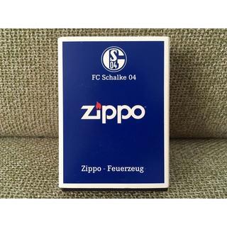 ジッポー(ZIPPO)のFC Schalke 04 ZIPPO シャルケ ライター 新品 サッカー(記念品/関連グッズ)
