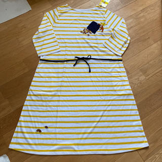 グラニフ(Design Tshirts Store graniph)のおさるのジョージ(ひざ丈ワンピース)