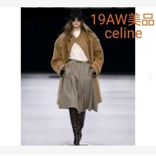 celine - 5/25まで出品 セリーヌ 19AW美品 オーバーサイズダッフルコート