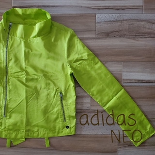 アディダス(adidas)のAdidas neo ナイロン ライダースジャケット(ライダースジャケット)