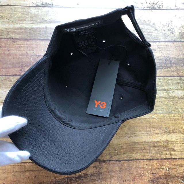 Y-3(ワイスリー)の新品  Y-3 ワイスリー FQ6974 ロゴ CAP ブラック ヨージヤマモト メンズの帽子(キャップ)の商品写真