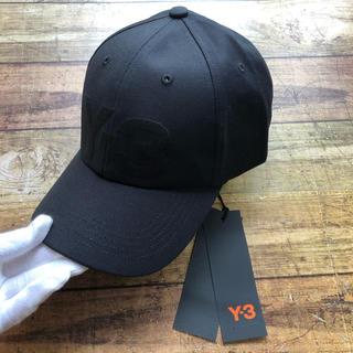 Y-3 - 新品  Y-3 ワイスリー FQ6974 ロゴ CAP ブラック ヨージヤマモト