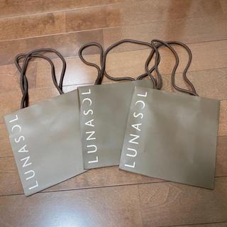 ルナソル(LUNASOL)のショップ袋*LUNASOL(ショップ袋)