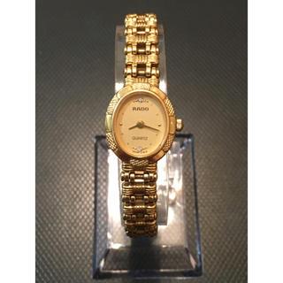 ラドー(RADO)のラドー RADO 腕時計 レディース ゴールド(腕時計)