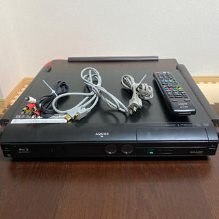 アクオス(AQUOS)のジャンク品 AQUOS ブルーレイレコーダー BD-HD22(ブルーレイレコーダー)