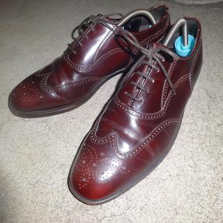 アレンエドモンズ(Allen Edmonds)のFLORSHEIM ビジネス ストレートチップ 革靴 メダリオン(ドレス/ビジネス)