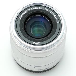 パナソニック(Panasonic)のパナソニック35-100シルバー(レンズ(ズーム))