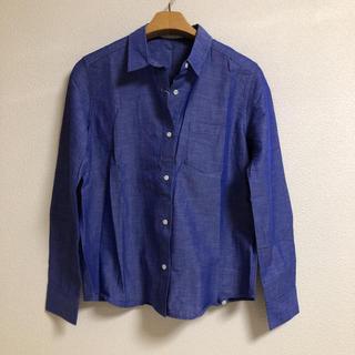 最終値下げ‼︎新品☆エクリュフィル 麻混じり長袖シャツ