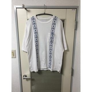クリスチャンダダ(CHRISTIAN DADA)の薔薇Tシャツ contena vintage コンテナストア(Tシャツ/カットソー(半袖/袖なし))