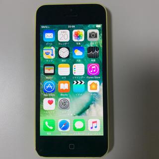 アイフォーン(iPhone)のiPhone5c Yellow 32 GB Softbank(スマートフォン本体)