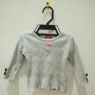 ベビードール(BABYDOLL)の☆[9] ベビードール 長袖トップス 女の子 サイズ80☆(ニット/セーター)