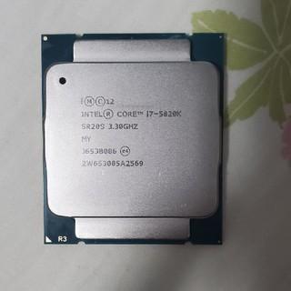インテレクション(INTELECTION)のIntel core I7-5820K(PCパーツ)