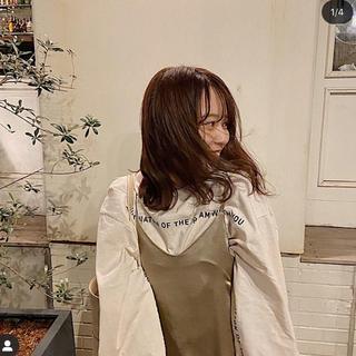 フーズフーチコ(who's who Chico)の値下げ可能 ラインロゴプリントBIGロンT(Tシャツ/カットソー(七分/長袖))