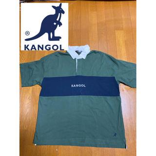 カンゴール(KANGOL)の【最終価格】美品 カンゴール KANGOL ラガーシャツ ポロシャツ ビックロゴ(シャツ)