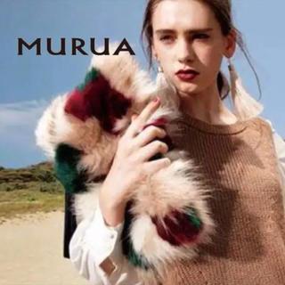 ムルーア(MURUA)のムルーア ファー クラッチ(クラッチバッグ)