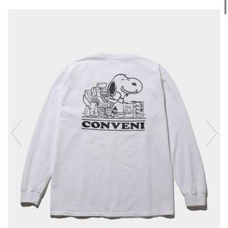 フラグメント(FRAGMENT)のコンビニフラグメントピーナッツロングスリーブTEE sizeXL(Tシャツ/カットソー(七分/長袖))