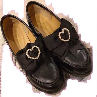 リズリサ(LIZ LISA)のLIZLISA 厚底ローファー(ローファー/革靴)