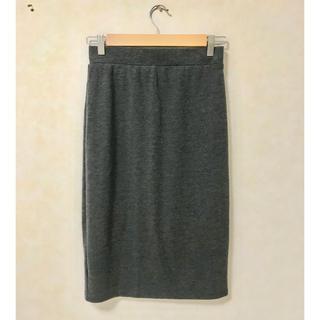 ティティベイト(titivate)のスカート膝下⭐︎タイトスカート⭐︎グレー(ひざ丈スカート)