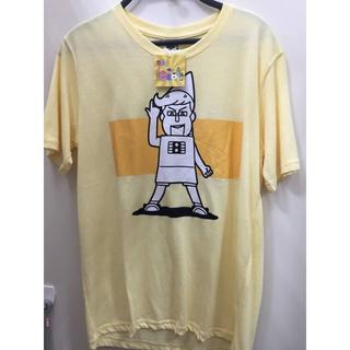 新品 黄色 LL ノキオ あはれ!名作くん tシャツ メンズ Tシャツ(お笑い芸人)