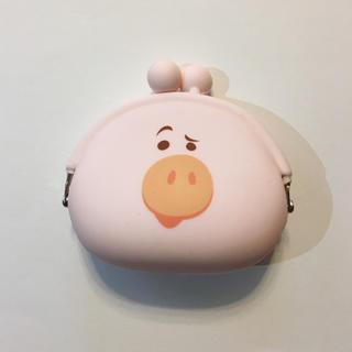 ディズニー(Disney)の【新品・未使用】ハムシリコンがま口財布(財布)