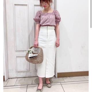デイシー(deicy)のdeicy購入 lee slit skirt スリットスカート(ロングスカート)