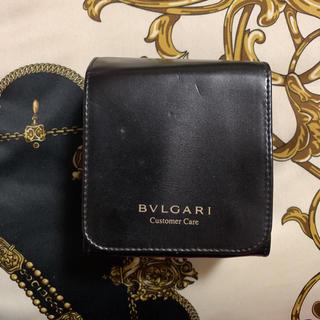 BVLGARI - ブルガリ カスタマーケア 時計ケース レザー ブラック