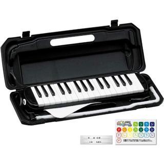 KC 鍵盤ハーモニカ ピアノ ピアニカ^^ ブラック(キーボード/シンセサイザー)